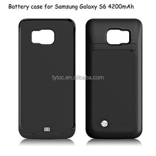 Newest Products 4200mAh Mobile Charger Battery Case For Samsung Galaxy S6