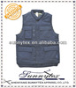 Sunnytex TC polycotton navy blue padded cheap black vests for men