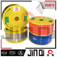 PU Pneumatic pu tube colored rubber tubing