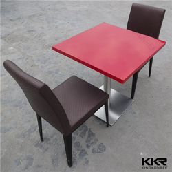 fast food restaurant furniture / restaurant chairs and tables