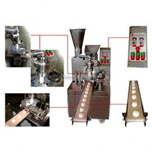 High efficient double hopper steamed bun making machine with good price and low energy consumption
