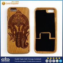 Lateset luxo Real natureza madeira padrão Picture escarificação caixa do telefone para o iPhone 6