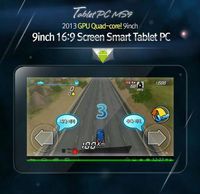 """[MPGIO] Tablet PC / MS9 (8G) / 9"""" 16:9 / Android 4.0.4 / HDMI / Smart Pad /"""