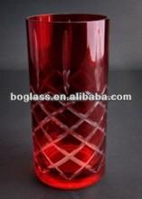 Las ventas caliente! Florero de cristal decorativo