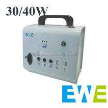 high efficiency solar panel home lighting kits 40w
