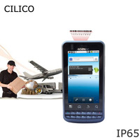 low price Industrial android mobile computer 3g terminal hf rfid reader barcode scanner built in 3G Wifi