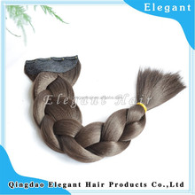 Very cheape 4 clips on Heat-resistant xpression synthetic hair braids