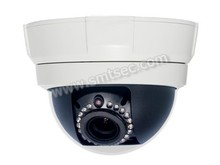 7200P Low light Vandal- proof Dome IP CCTV Camera,Support two-way audio > 21 IR LEDs, IR 15m 2.8-12mm Zoom Lens POE (SIP-F04PR)