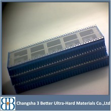 Durable PCBN/PCD/CBN inserts,pcd blade, diamond blanks,Customized design is available