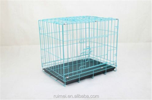 Folding Pet Kennel Cat Dog Rabbit Crate Animal Play Pen Wire Metal Cage