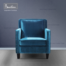 Baotian Furniture American Style Fabric Chair For Hotel Project
