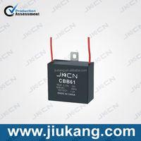 Wholesale CBB61 electric fan /ceiling fan capacitor wiring