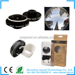 new products 2016 innovative product clip mounting super 235fisheye for cellphone camera cover
