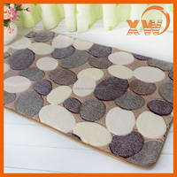 Alibaba China pebble PVC custom memory foam prayer mat