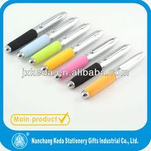 hot selling mini easy take soft foam EVA short sport mini metal ball pen