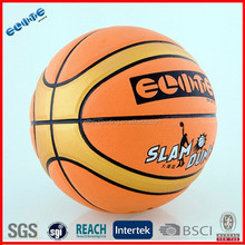 Best sale PU Laminated official basketball ball size