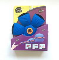 New flexible EVA phlat ball toys,eva frisbee ball flying disc ball component