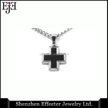 Christmas Gift Ideas For Friends Cheap Steel Cross Pendant