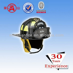 international standard fire helmet in fire fighting equipment