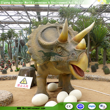 Artificial Dinosaur Triceratops for Dinosaur Party Supplies