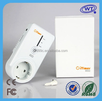 GSM SMS Controlled Timing Smart Power Socket with Temperature Controller