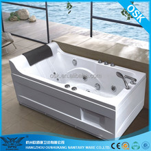 Hot sale and New tub design combo air and whirlpool bathtub