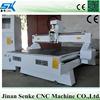 4.5KW Air cooled spindle 3 axis vacuum table cnc router machine for wood