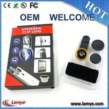 top quality Aluminum magnetic 18x telephoto zoom lens & 150x macro
