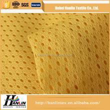knitted technic polyester mesh fabric / high density polyethylene mesh fabric