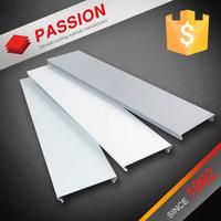 Light Weight Building Materials Aluminum Fireproof Suspended Mirror Ceiling Tiles