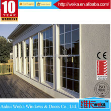 Quality OEM any color Single aluminium top hung windows