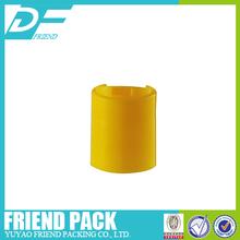 Cosmetic bottle lip/ plastic cap/Press lid 28/415, 28/415 Plastic Bottle Disc Cap