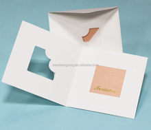 Modern branded holiday supplies wedding cards