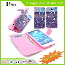 rock phone case leather with great price for Samsung Galaxy S4 I9500