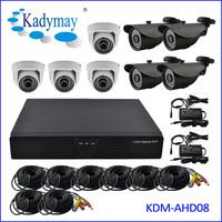 New Model!!! 8chs 1.3Megapixels AHD security camera Kit System/HD-AHD Camera Kit,Cheap CCTV Camera System