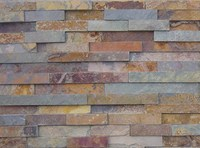 Rusty Culture Slate for wall cladding