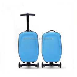 folding shopping trolley bag with 2 wheels travel trolley luggage bag