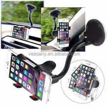 Universal Car Mount Suction Phone Holder For Cell Phone Smartphone (Fit iPhone 6 Plus Samsung Note 4 Galaxy S5)