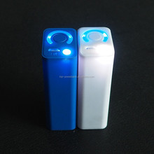 Rechargeable 2IN1 LED Flashlight Torch Hunting Power bank USB 18650