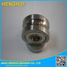 V groove guide wheel track roller bearing LV20 / 7 ZZ 7*22*11
