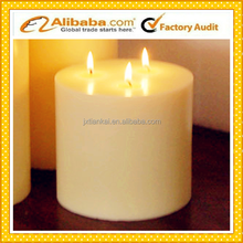 alibaba supplier top class wax flameless candle