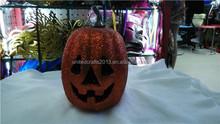 2015 the new design Halloween decor white foam craft pumpkins with led light