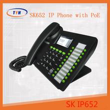 New arrival !! SK best voip phone cordless sip phone with 5 sip lines SK652W