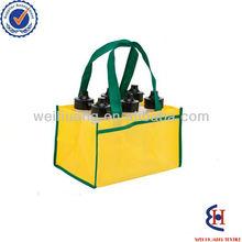 promotion bottle holder,wine bottle case carrier holder bag