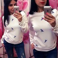 new coming custom tshirts causal white tshirt long sleeve t shirts manufacturers china AL0167