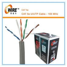 cat5e lan cabo de rede de fio de madeira usado carretel de cabo
