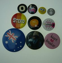 button badge material parts