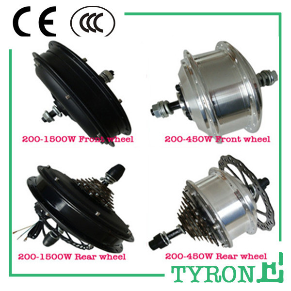 Best factory price 48V 450W New Ebike hub motor for electric bike conversion kit with disk brake