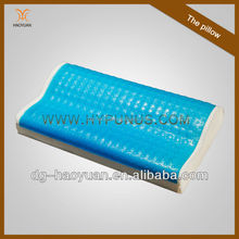 New design fashion cool gel memory foam pillow