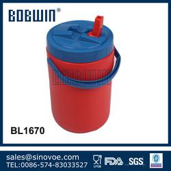 2.5L plastic cooler water jug set with handle